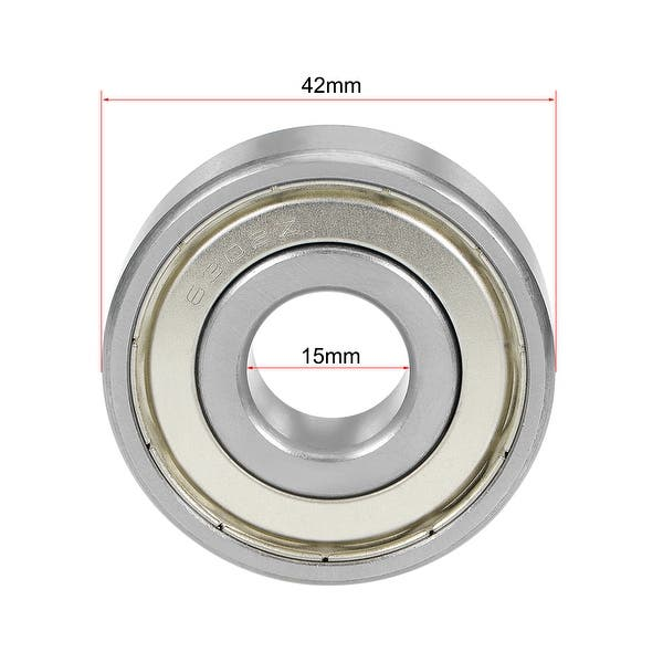 6302ZZ Ball Bearing 15x42x13mm