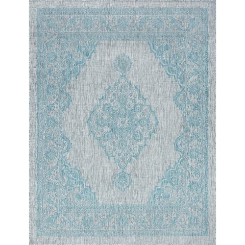 Alise Rugs Colonnade Traditional Medallion Area Rug