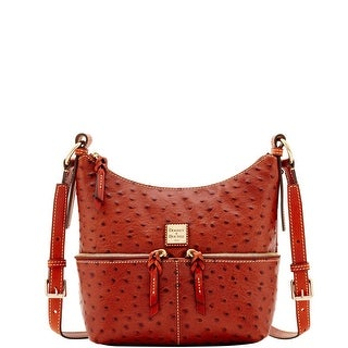 Dooney & Bourke Ostrich Small Pocket Zipper Crossbody (Introduced by Dooney & Bourke at $238 in Aug 2017)