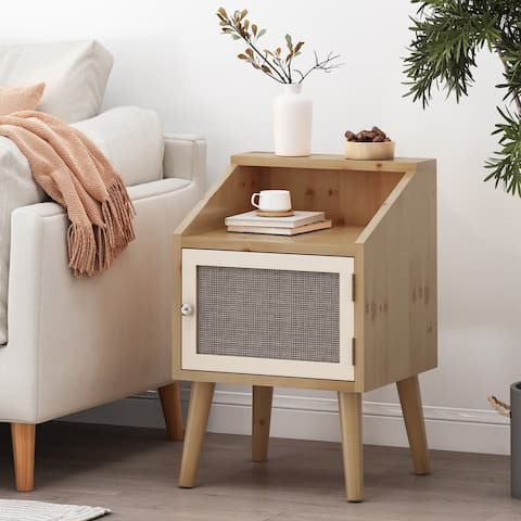 Merlack End Table with Hutch by Christopher Knight Home