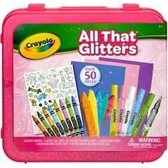 All That Glitters - Crayola Inspiration Art Case