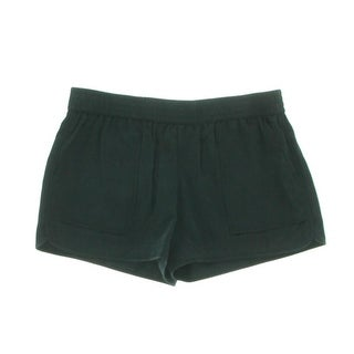 Joie Womens Beso Lyocell Flat Front Casual Shorts - L