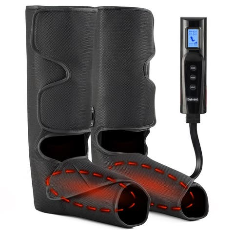 Belmint Foot & Leg Air Compression Massager with Heat, include 6 Modes