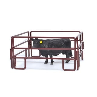 Little Buster Toy Heavy Duty Metal 4pc Cattle Panel Set Red 500200