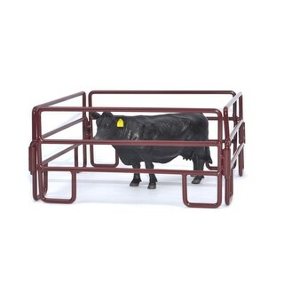 Little Buster Toy Heavy Duty Metal 4pc Cattle Panel Set Red