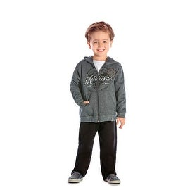 Toddler Boy Outfit Hoodie Sweater Jacket and Pants 2pc Set Pulla Bulla 1-3 Years