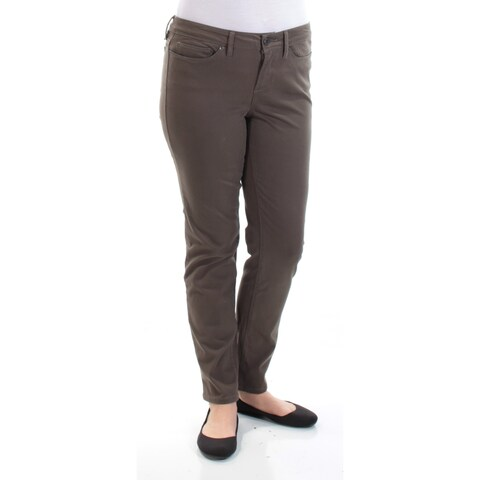 AMERICAN RAG $44 Womens New 1185 Green Casual Jeans Juniors 11 B+B