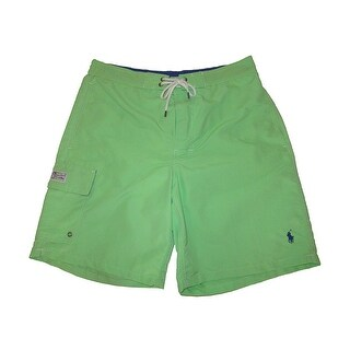 Polo Ralph Lauren Green Mens Size 2XL Kailua Swim Trunks Swimwear