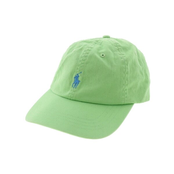 1eb7c051 Shop Polo Ralph Lauren Mens Classic Chino Ball Cap Embroidered Logo  Adjustable - o/s - Free Shipping On Orders Over $45 - Overstock - 15927296