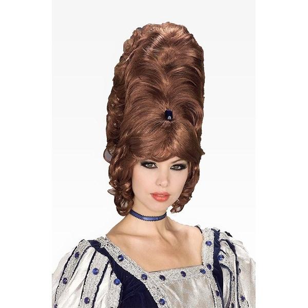 Auburn Beehive Costume Wig - Multi