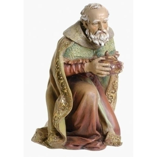"16.5"" Joseph's Studio King Gaspar Religious Christmas Nativity Statue - brown"