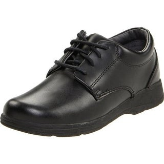 School Issue Girls Prep Solid Leather Oxfords - 13.5 wide (c,d,w)