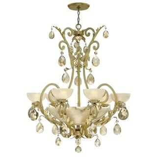 Fredrick Ramond FR44102 10 Light Single Tier Chandelier from the Barcelona Collection