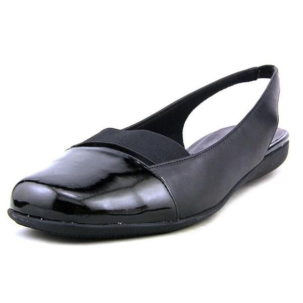 Trotters Sarina Women N/S Square Toe Synthetic Black Slingback Heel