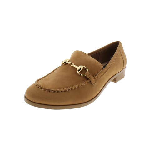 Steven By Steve Madden Womens Quebec Loafers Nubuck Dress