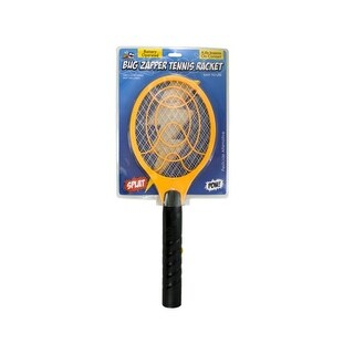 Bulk Buys OC613-12 Battery Operated Bug Zapper Tennis Racket