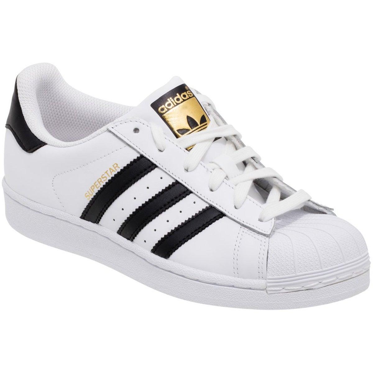 mens black and white shell toe adidas