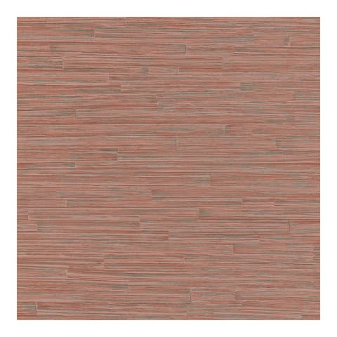 Cerise Red Ribbed Texture Wallpaper - 20.5 x 396 x 0.025