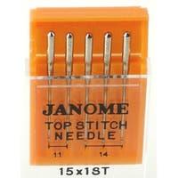 Janome Top Stitch Needles (Size 11, 14)