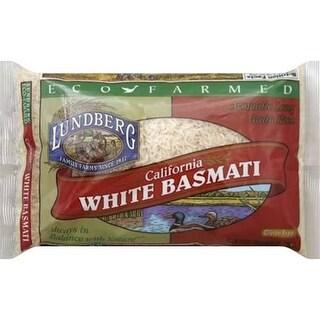 Lundberg Family Farms - Eco-Friendly White Basmati Rice ( 6 - 32 oz boxes)