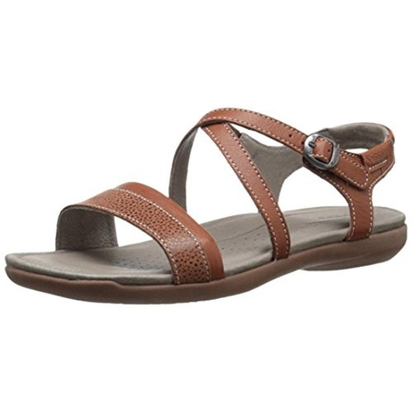 Keen Womens Rose City Flat Sandals Leather Slingback