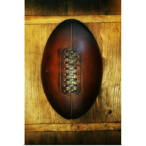"""""""Historic rugby ball"""" Poster Print"""
