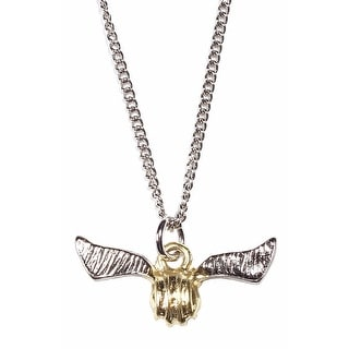 Harry Potter Necklace Golden Snitch Quidditch Accessories