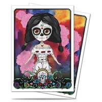 Dias De Las Muertos Standard Deck Protectors - Doll (50)