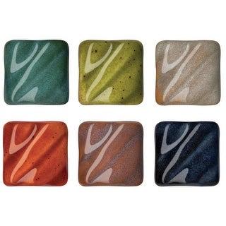 AMACO Potters Choice Lead-Free Non-Toxic Glaze Set, 1 pt, Assorted Color, Set of 3