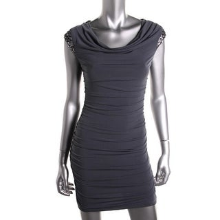 BCX Womens Juniors Clubwear Dress Sequined Fitted