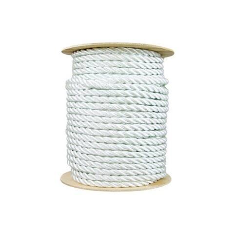 "Wellington N1840S0150S Twisted Nylon Rope, 5/8"" x 150'"