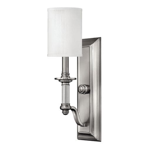 Hinkley Lighting H4790 1 Light Indoor Wall Sconce from the Sussex Collection