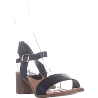7535791995d Shop Steve Madden April Block Heel Ankle Strap Sandals
