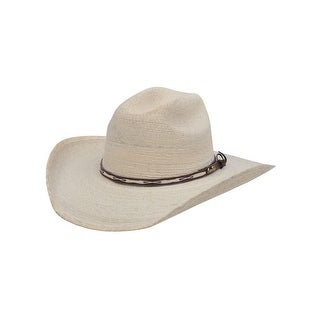 Alamo Cowboy Hat Girls Boy Hat Sahuayo Palm L/XL Natural 28125