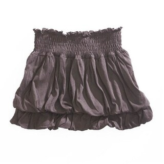Tin Haul Western Skirt Womens Bubble Charcoal 10-060-0513-0520 BL