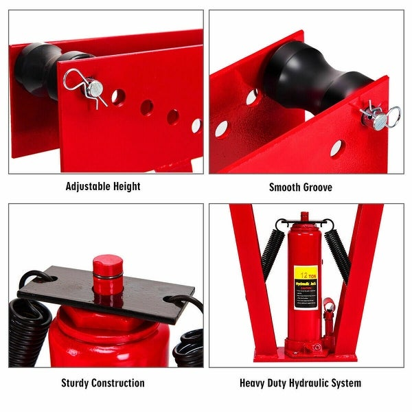 BNYZWOT Hand Tool Toggle Clamp Antislip Red Horizontal Clamp 20800 Quick Release Tool 4Pcs