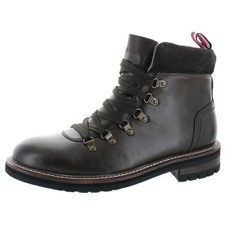 Tommy Hilfiger Halex Men's Leather Hiking Boots