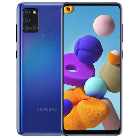 Samsung Galaxy A21s A217M 64GB Dual SIM GSM Unlocked Android SmartPhone (International Variant/US Compatible LTE)