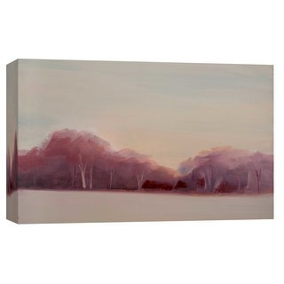 "PTM Images 9-101682  PTM Canvas Collection 8"" x 10"" - ""Misty Morning"" Giclee Forests Art Print on Canvas"
