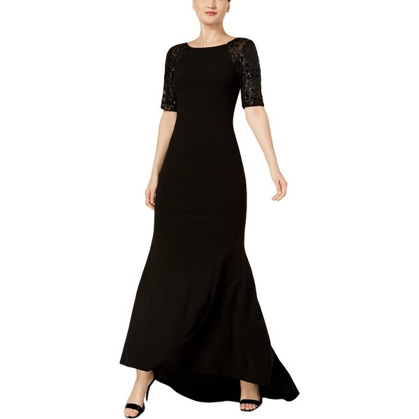 Calvin Klein Womens Evening Dress Sequined Full-Length
