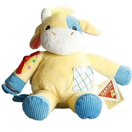 Dakin Clarence Activity Cow with Sounds - multi-color