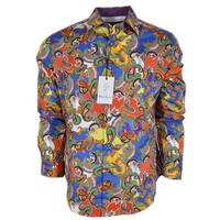 Robert Graham ACOSTA Paisley Cotton Classic Fit Sports Shirt