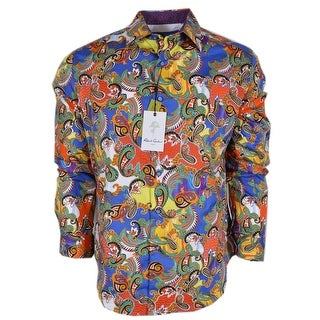 Robert Graham ACOSTA Paisley Cotton Classic Fit Sports Shirt