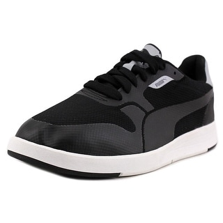 Puma Clyde City Tumble   Round Toe Leather  Sneakers