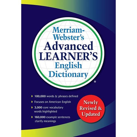 Merriam-webster advanced learner english dictionary 7364