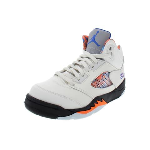 super popular 3f167 ef47c Jordan Boys Jordan 5 Retro PS Basketball Shoes Little Kid Leather