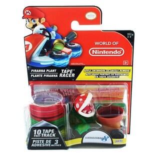 Nintendo Tape Racers Wave 2: Piranha Plant w/ Piranha Plant Pipe Way Tape - Multi