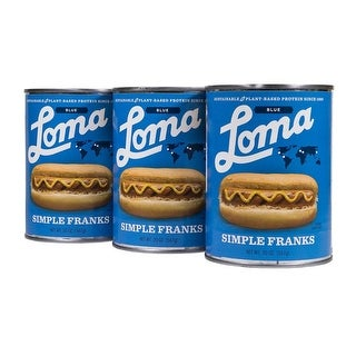 Loma Linda Blue Simple Franks (20 oz.) (Pack of 3)