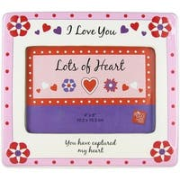 Lots of Heart Picture Frame by Russ Berrie