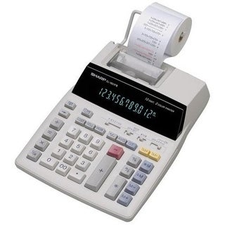 12-Digit Calculator - 12 Character(s) - Fluorescent - Power Adapter